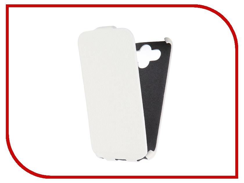 Аксессуар Чехол-книжка Mariso for LG AKA Ultra Slim экокожа White Флотер MUSLGAKA аксессуар sony aka dm1 dog mount for action cam