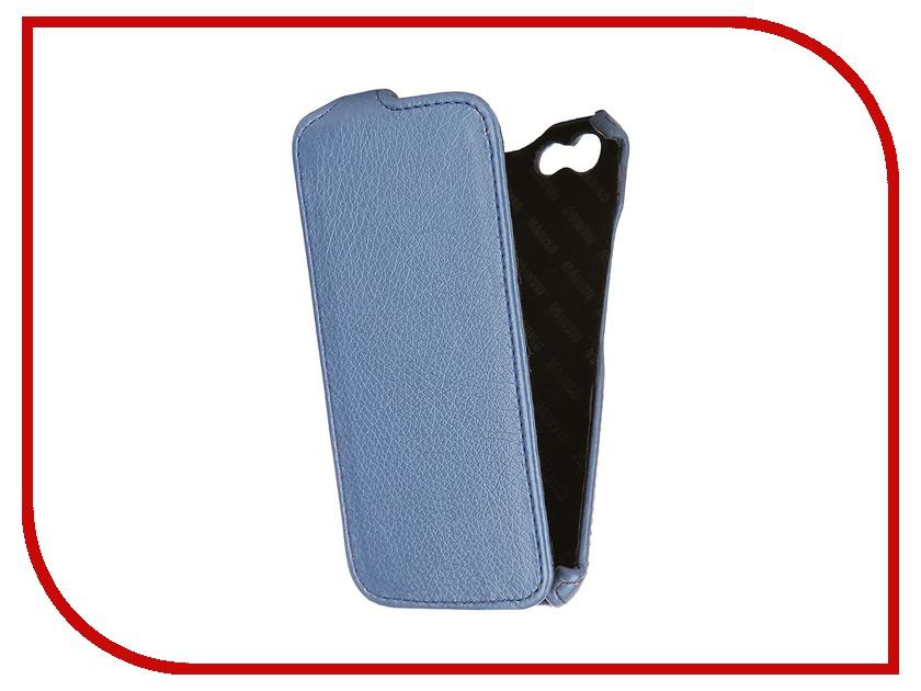 Аксессуар Чехол Mariso для iPhone 6 Slim Box экокожа Blue Флотер MSBIPH647<br>