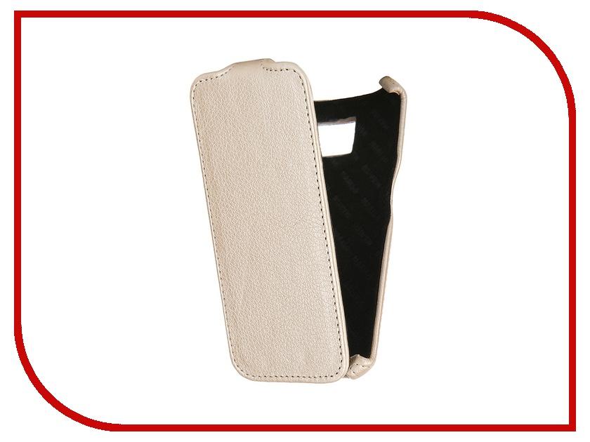 Аксессуар Чехол Samsung Galaxy S6 Edge SM-G925 Mariso экокожа Beige Флотер MSAMS6G925<br>