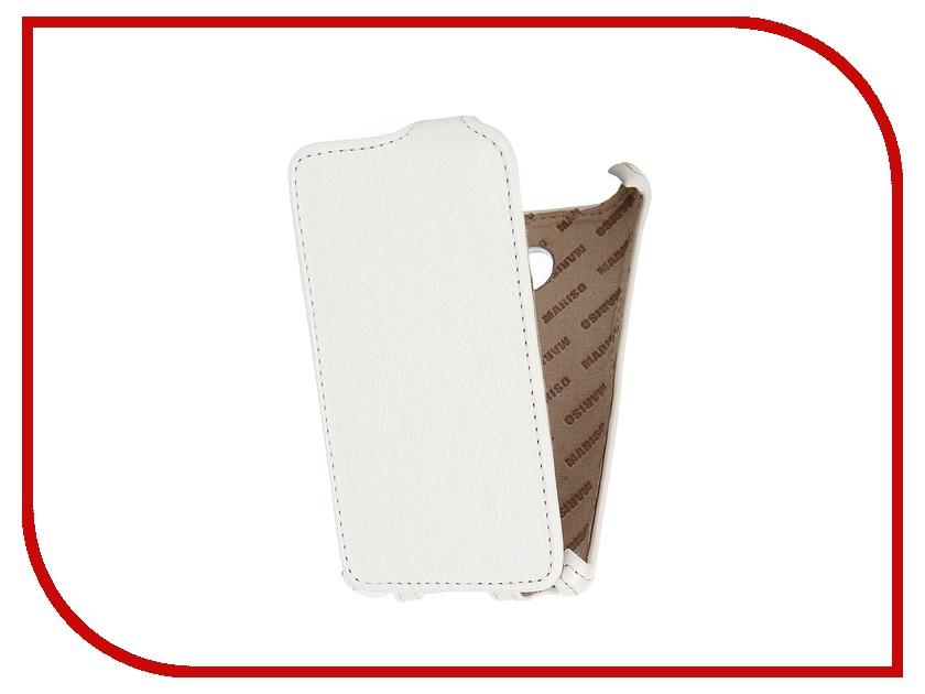 Аксессуар Чехол-книжка Microsoft Lumia 532 Dual Sim Mariso экокожа White Флотер MMICRLUM532