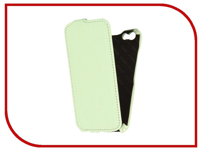 Аксессуар Чехол-книжка Mariso для iPhone 6 экокожа Light Green Флотер MIPH647<br>