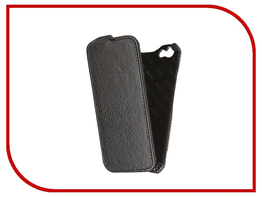 Аксессуар Чехол-книжка Mariso для iPhone 6 экокожа Black Флотер MIPH647<br>