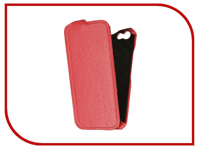 Аксессуар Чехол-книжка Mariso для iPhone 6 экокожа Red Флотер MIPH647<br>
