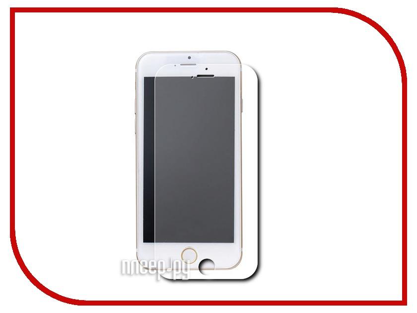 Аксессуар Защитное стекло iPhone 6 Solomon Aluminium Gold