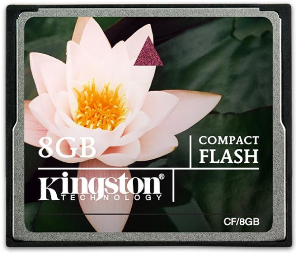 Карта памяти 8Gb - Kingston Compact Flash CF/8GB