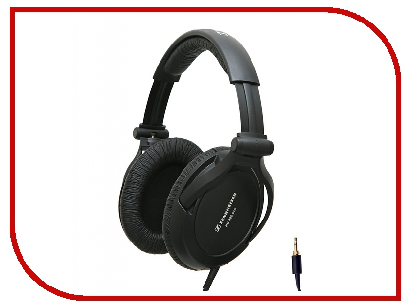 Sennheiser HD 380 Pro охватывающие наушники sennheiser hd 380 pro black