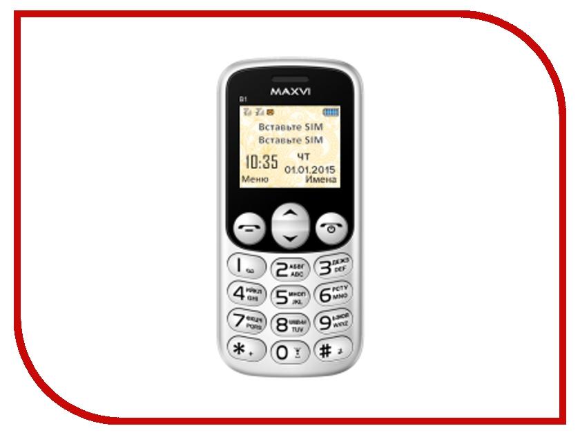 Сотовый телефон Maxvi B1 White<br>