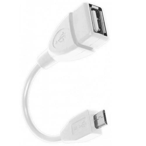 Аксессуар DEXP OTG micro USB - USB 0.15m White OMUWSI150