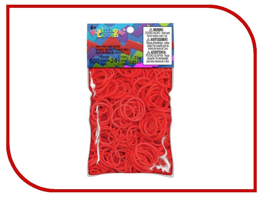 Набор для творчества DIY Loom Bands 600 шт K-102-9 Red