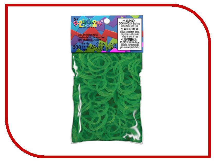 Набор для творчества DIY Loom Bands 600 шт K-102-8 Green