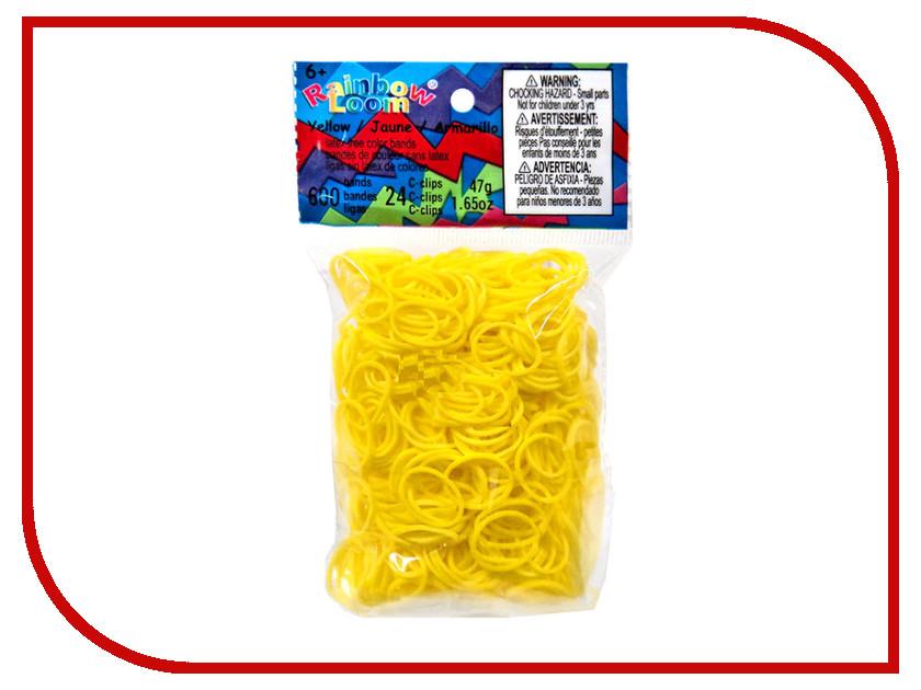 Набор для творчества DIY Loom Bands 600 шт K-102-7 Yellow<br>