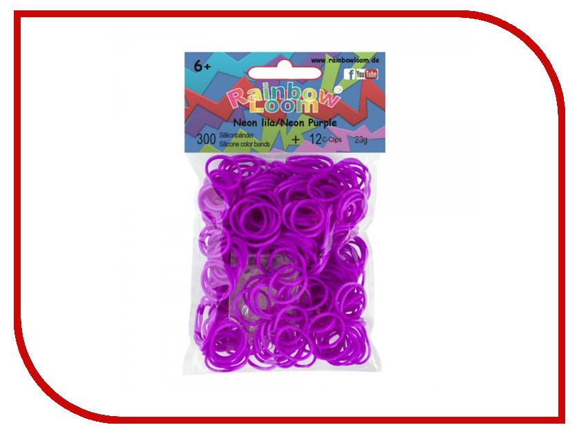 Набор для творчества DIY Loom Bands 600 шт K-102-4 Purple