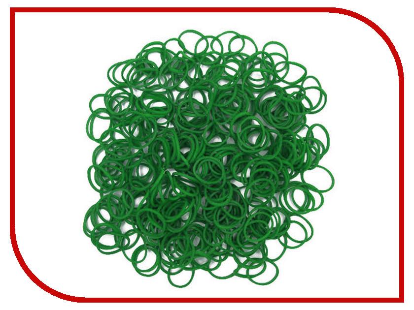 Набор для творчества DIY Loom Bands 200 шт K-100-9 Dark-Green