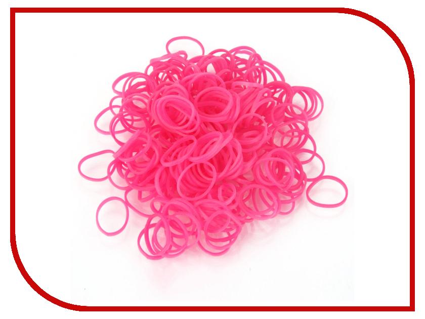 Набор для творчества DIY Loom Bands 200 шт K-100-5 Dark-Pink