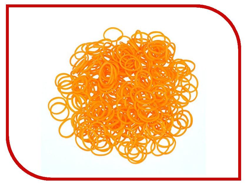 Набор для творчества DIY Loom Bands 200 шт K-100-4 Orange