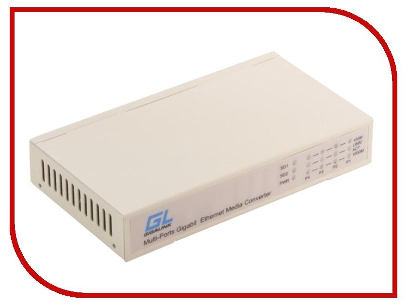 Коммутатор GigaLink GL-SW-G012-04S<br>