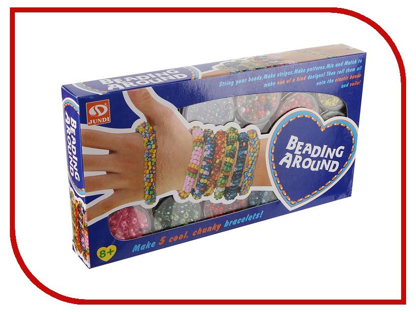 Набор для творчества DIY Loom Bands для плетения браслетов из бисера K-19