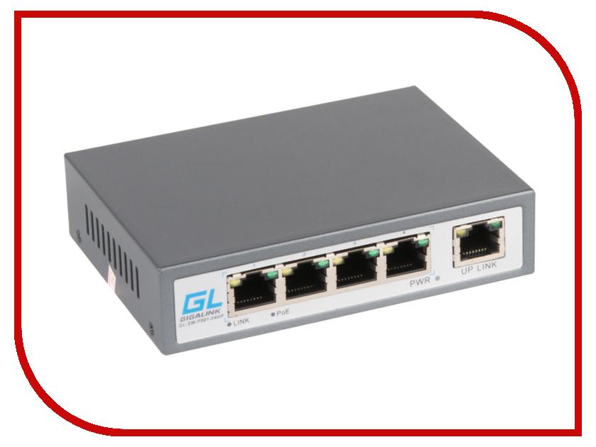 Коммутатор GigaLink GL-SW-F002-04P