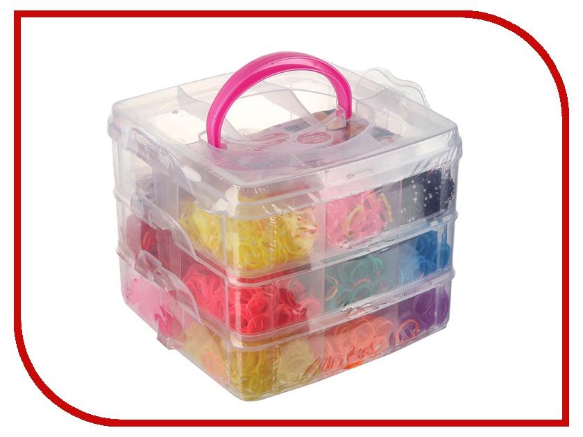 Набор для творчества DIY Loom Bands Квадратный / Box Set K-23