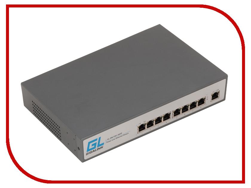 Коммутатор GigaLink GL-SW-F001-08HP<br>
