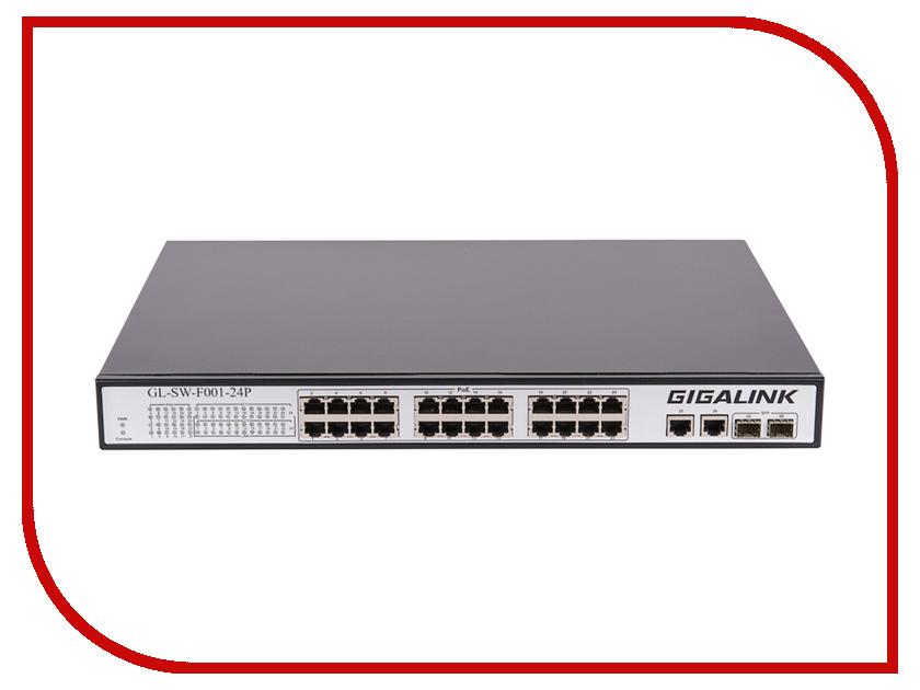 Коммутатор GigaLink GL-SW-F001-24P<br>