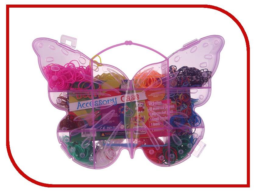 Набор для творчества DIY Loom Bands Бабочка / Beauty Set LB17