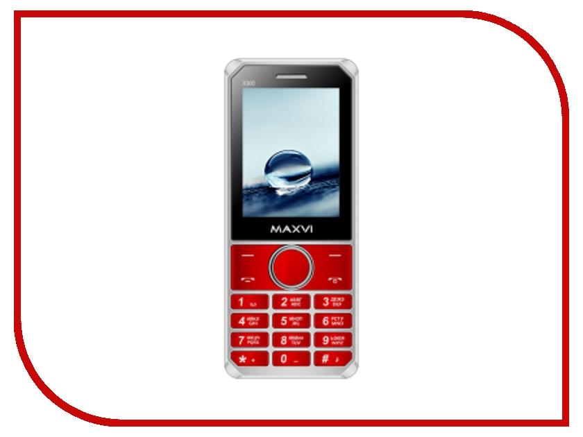Сотовый телефон Maxvi X300 Red