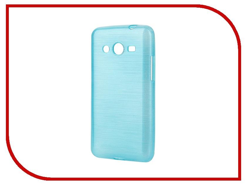 Аксессуар Чехол-накладка Gecko for Samsung Galaxy Core 2 Gecko Metallic силиконовый Azure S-GM-SAM355-AZURE<br>