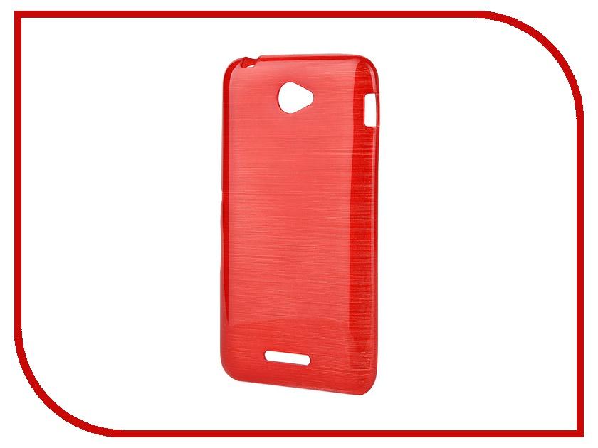 ��������� �����-�������� Gecko for Sony Xperia E4 Dual E2115 Gecko Metallic ����������� Red S-GM-SONE4-RED