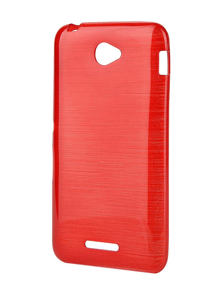 Чехол-накладка Sony Xperia XA Gecko силиконовый Transparent White S-G-SONXA-WH