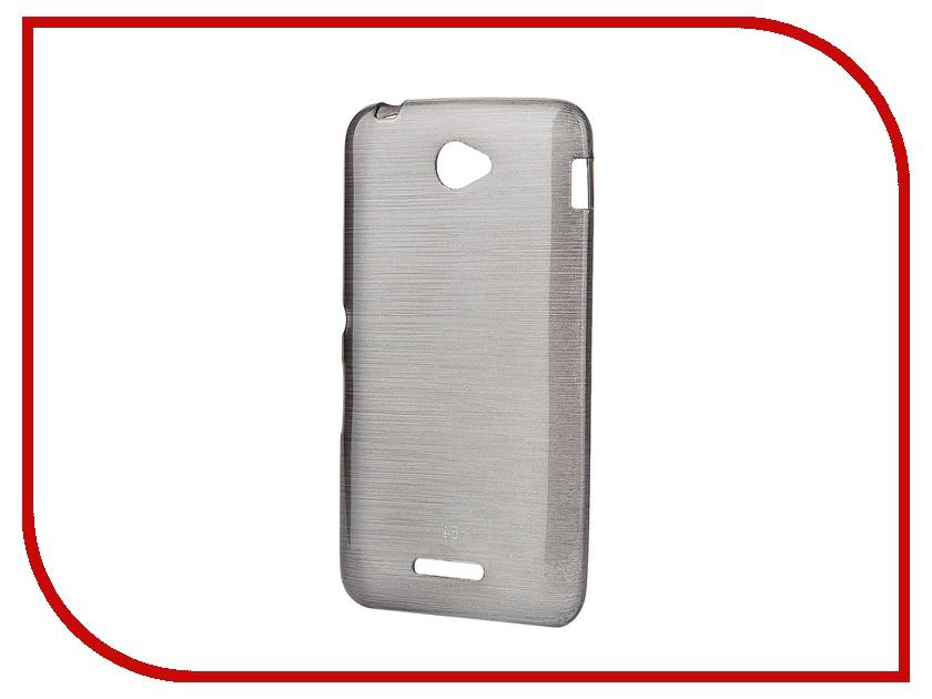 Аксессуар Чехол-накладка Gecko for Sony Xperia E4 Dual E2115 Gecko Metallic силиконовый Black S-GM-SONE4-BLACK<br>