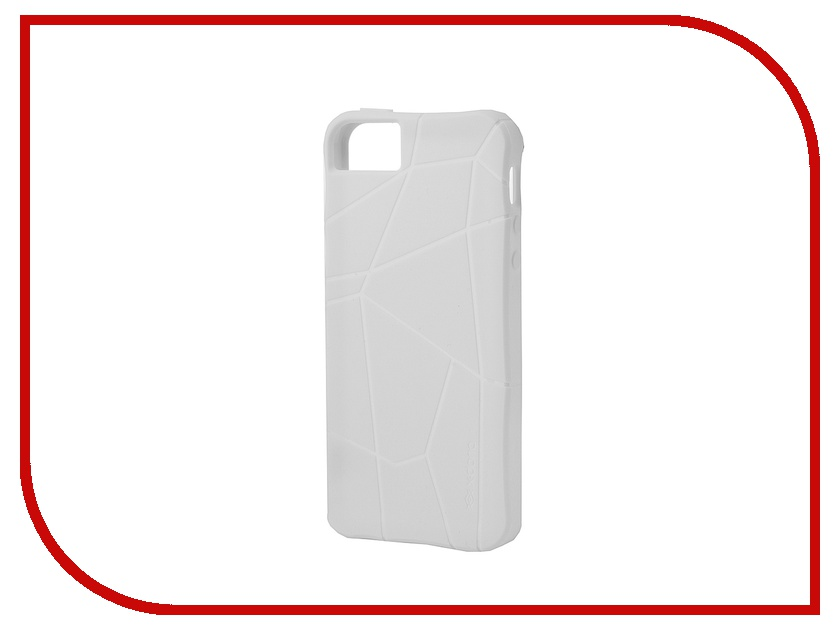 Аксессуар Чехол-накладка Gecko для iPhone 5 / 5S силиконовый White S-G-IP5/5S-WH<br>