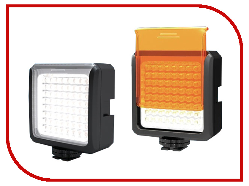 Накамерный свет FST LED-V64 огурец зеленика отзывы