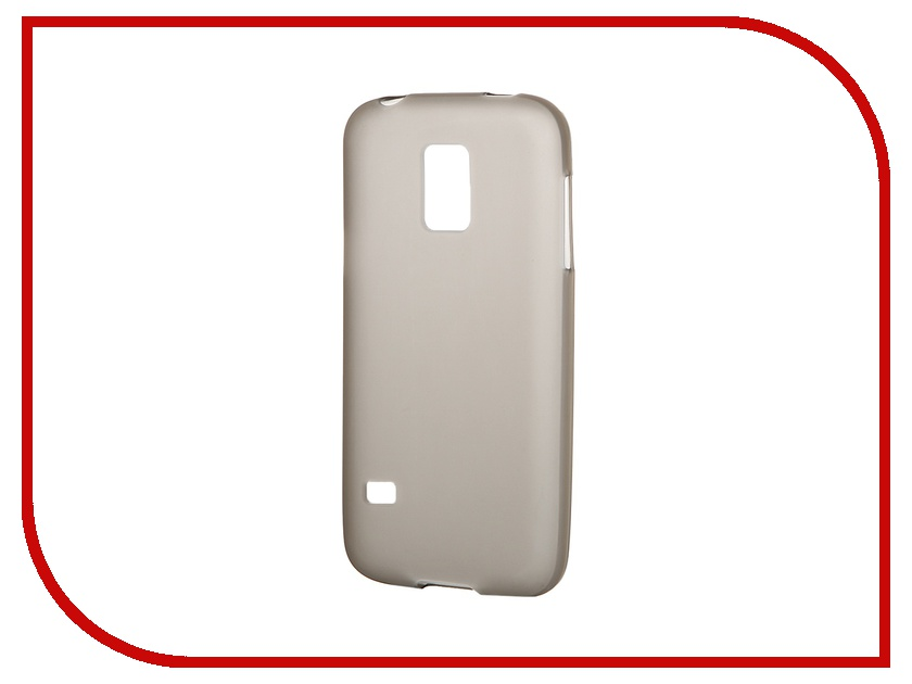 Аксессуар Чехол-накладка Gecko for Samsung Galaxy S5 Mini G800H силиконовый Black S-G-SAMS5mini-BL<br>