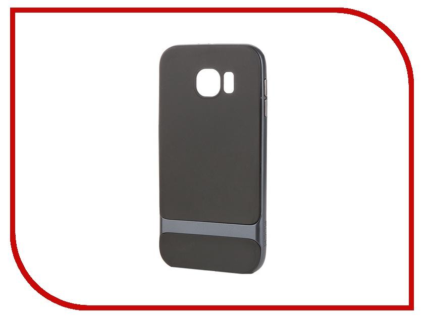 Аксессуар Чехол-накладка Samsung G920F Galaxy S6 ROCK Royce Grey 88317<br>