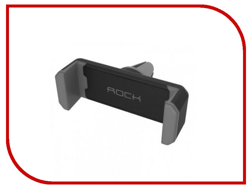 Держатель ROCK Car Vent Phone Holder Dark-Grey 88386