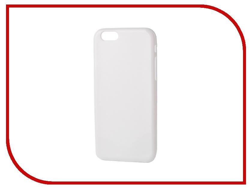 Аксессуар Чехол-накладка Gecko for iPhone 6 силиконовый White S-G-IP6-WH<br>