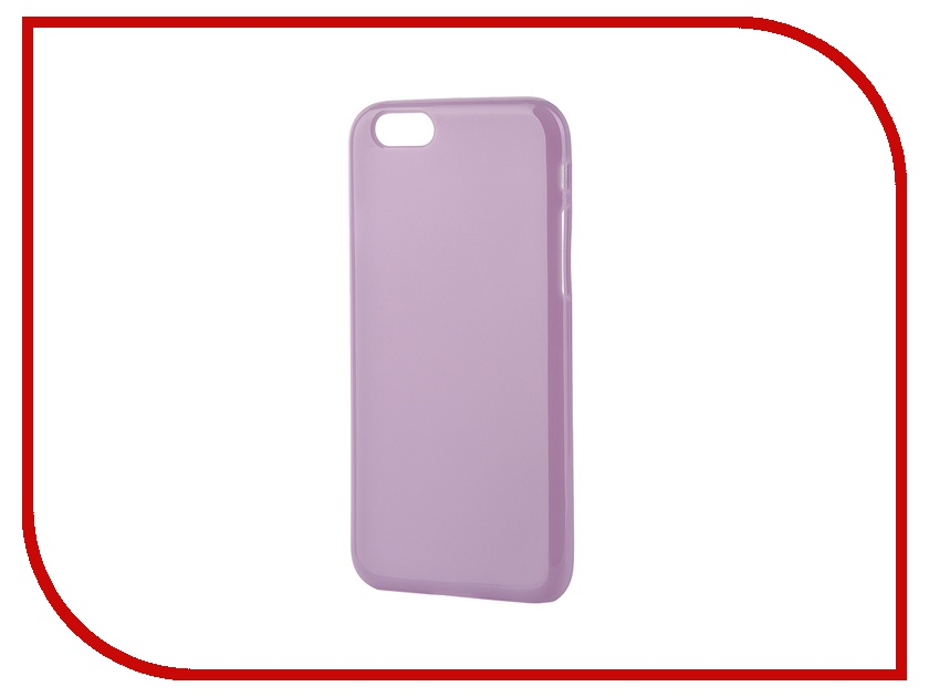 Аксессуар Чехол-накладка Gecko for iPhone 6 силиконовый Violet S-G-IP6-VIO<br>