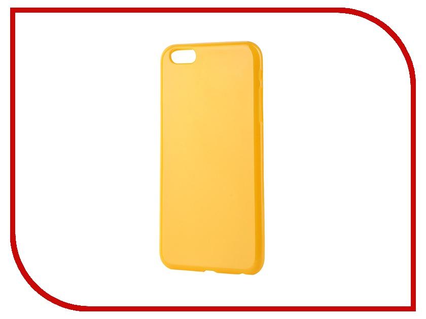 Аксессуар Чехол-накладка Gecko for iPhone 6 Plus силиконовый Yellow S-G-IP6P-YELLOW<br>