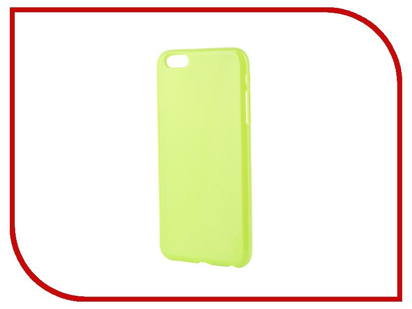 Аксессуар Чехол-накладка Gecko for iPhone 6 Plus силиконовый Green S-G-IP6P-GR<br>