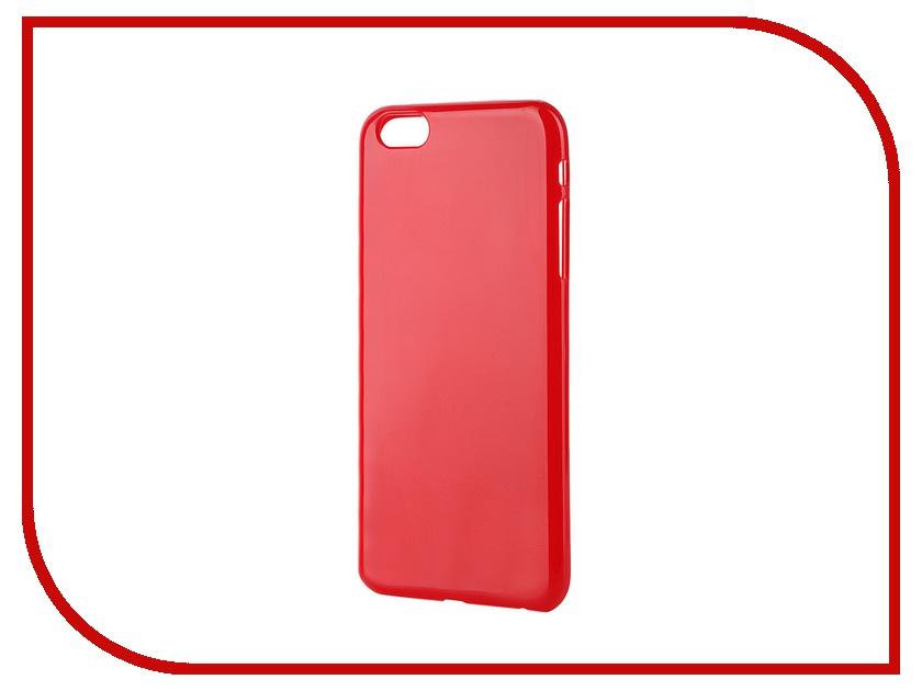 Аксессуар Чехол-накладка Gecko for iPhone 6 Plus силиконовый Red S-G-IP6P-RED<br>