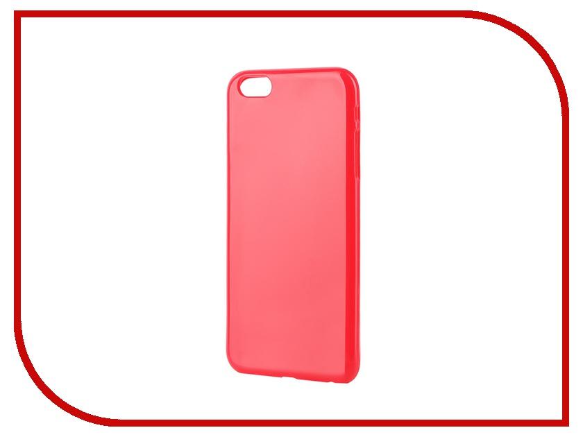 Аксессуар Чехол-накладка Gecko for iPhone 6 Plus силиконовый Rose S-G-IP6P-ROSE