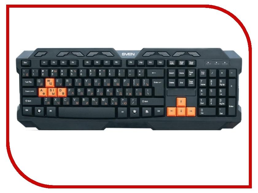 Клавиатура Sven Challenge 9700 Black