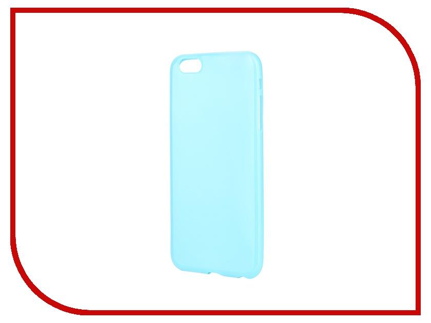 Аксессуар Чехол-накладка Gecko for iPhone 6 Plus силиконовый Blue S-G-IP6P-DBLU<br>