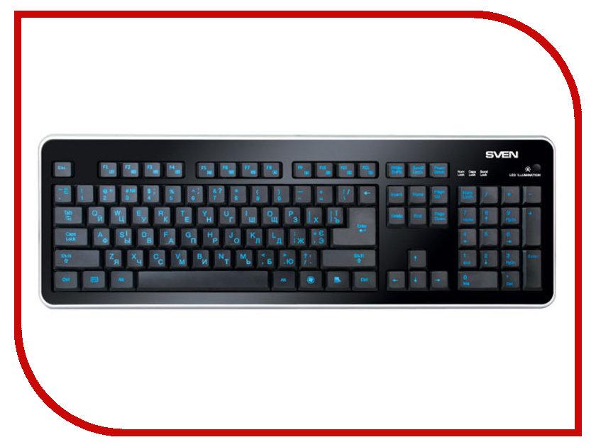 все цены на Клавиатура Sven Comfort 7400 EL онлайн