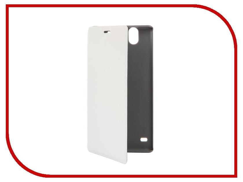 Аксессуар Чехол-книжка Sony Xperia C4 Muvit MFX Ultra Slim Folio Case White SESLI0139