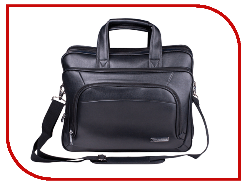Аксессуар Сумка 15.6 Brauberg FVRT-1 Black 240399 brauberg сумка для детской обуви космолет