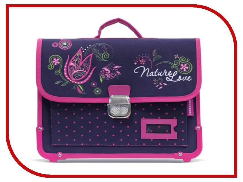 Рюкзак BRAUBERG Цветок Dark-Purple 223671 от Pleer