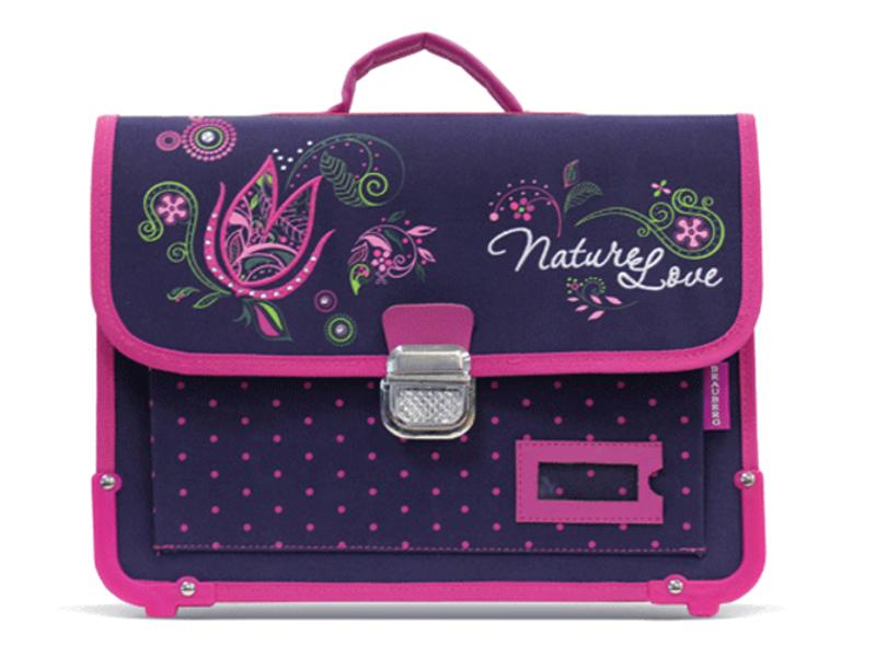 Рюкзак BRAUBERG Цветок Dark-Purple 223671<br>