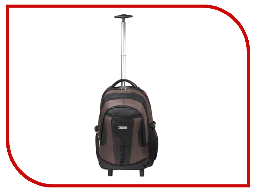 Рюкзак BRAUBERG JX-2 Black-Brown 224459<br>